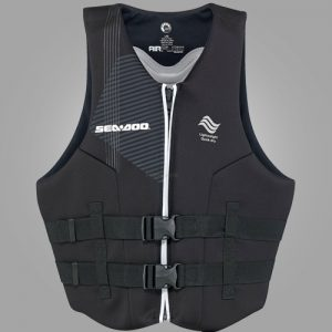 SEADOO MENS-AIRFLOW-PFD-BLACK